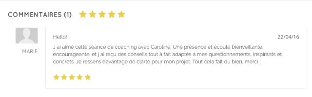 Avis coaching